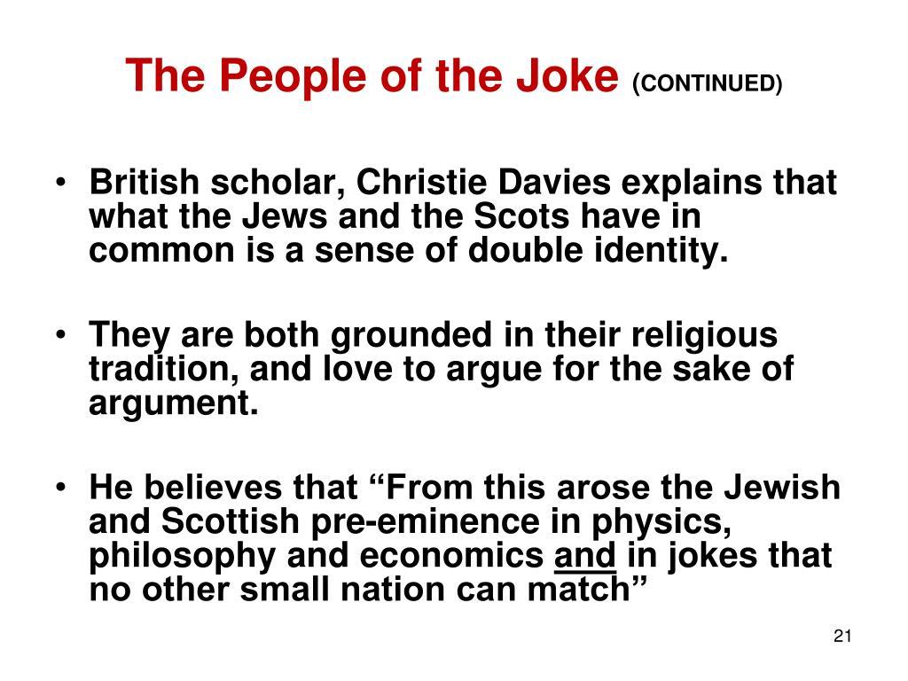 The People of the Joke