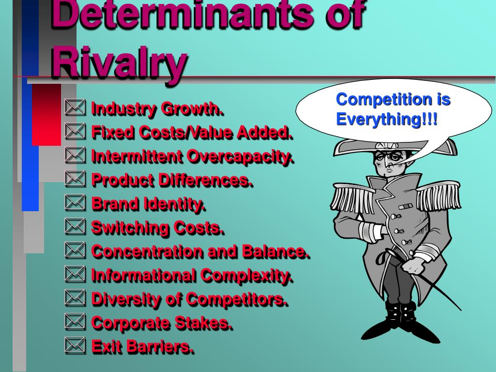 Determinants of Rivalry