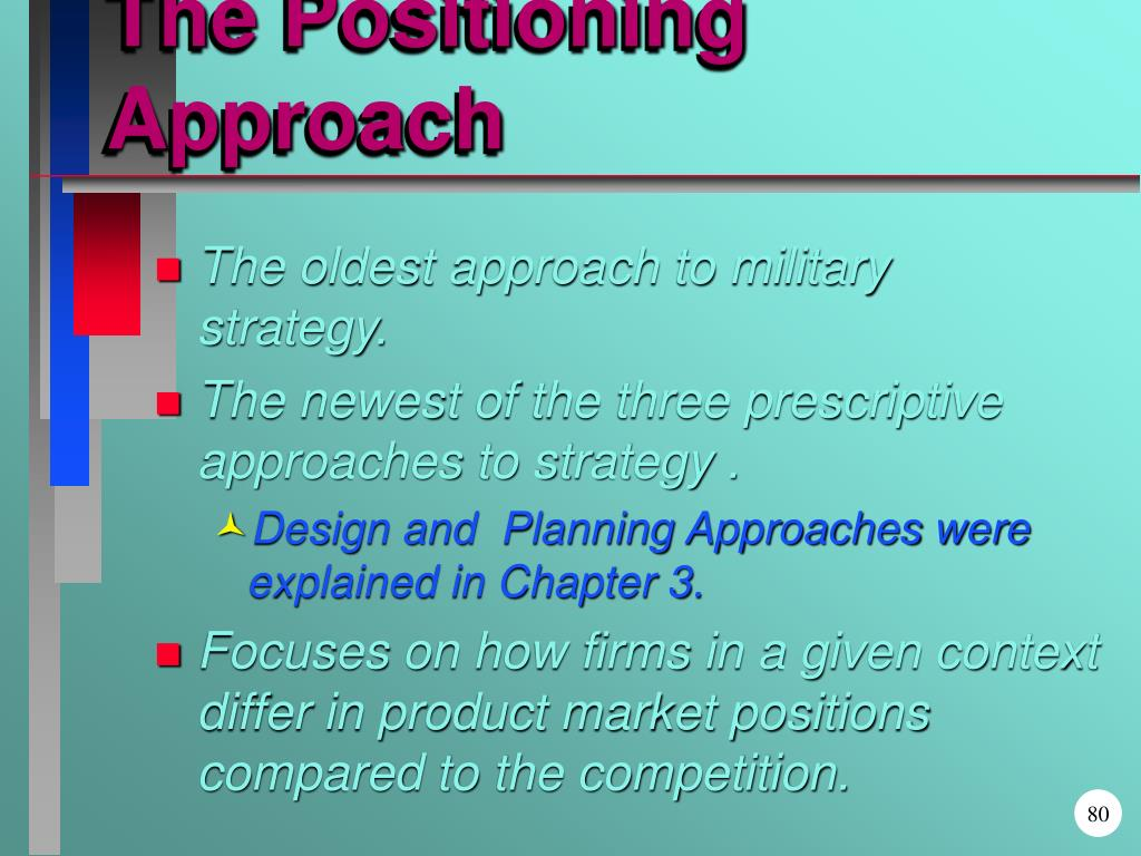 The Positioning Approach