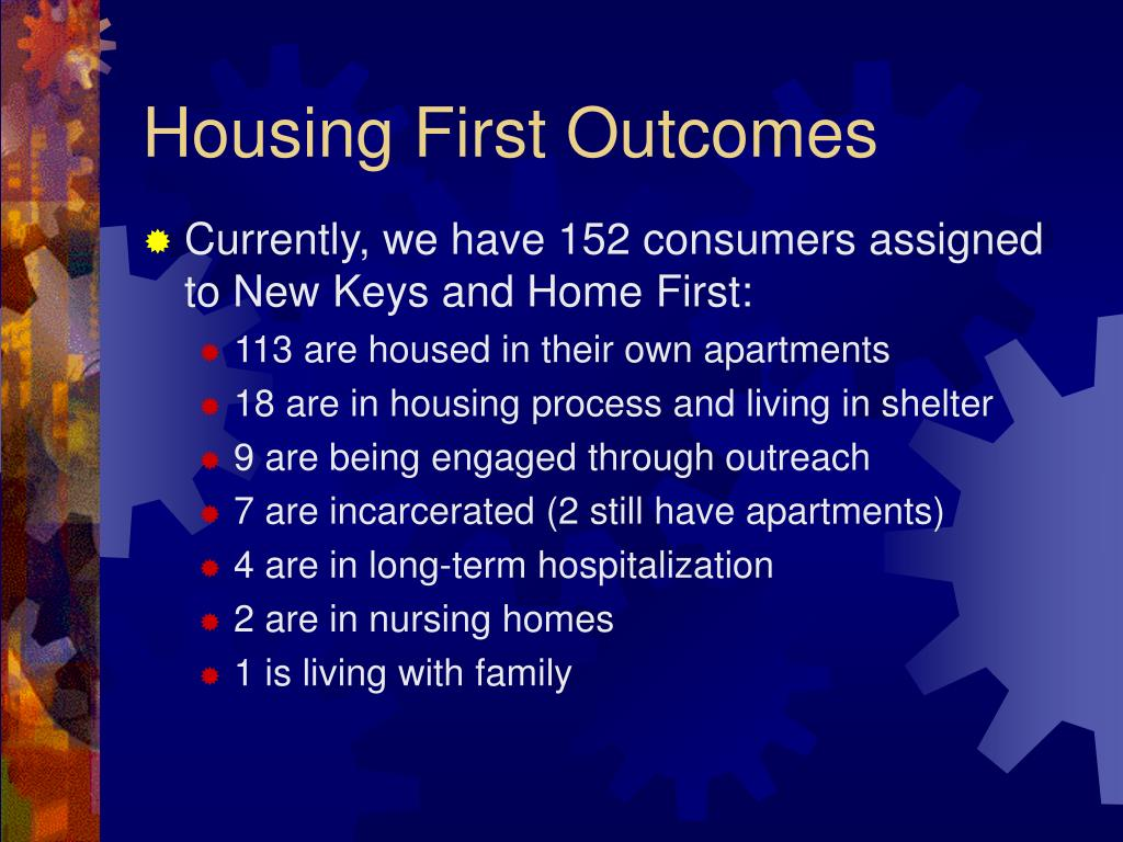 Currently, we have 152 consumers assigned to New Keys and Home First:
