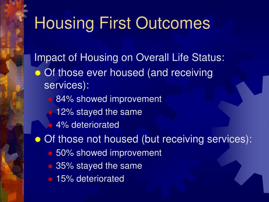 Impact of Housing on Overall Life Status: