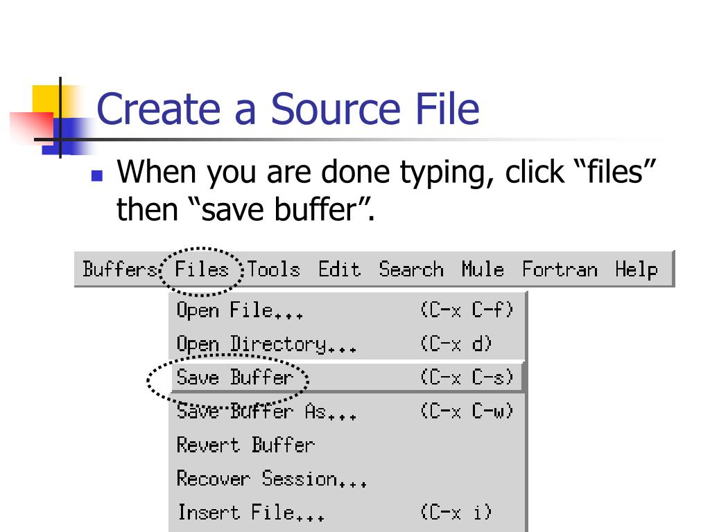 Create a Source File