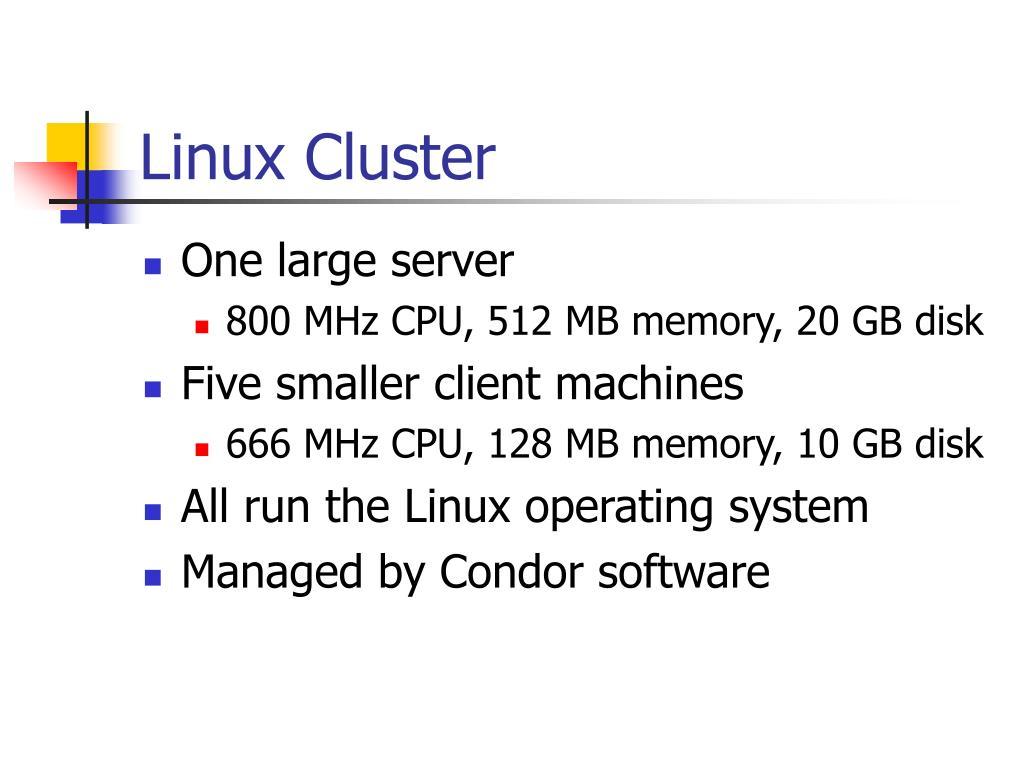 Linux Cluster