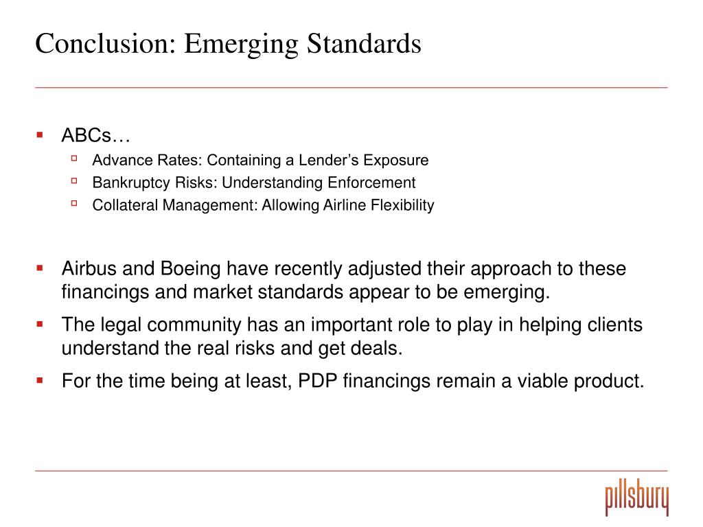 Conclusion: Emerging Standards
