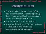 intelligence cont23