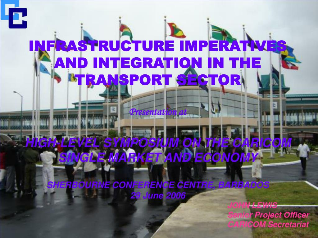 INFRASTRUCTURE IMPERATIVES