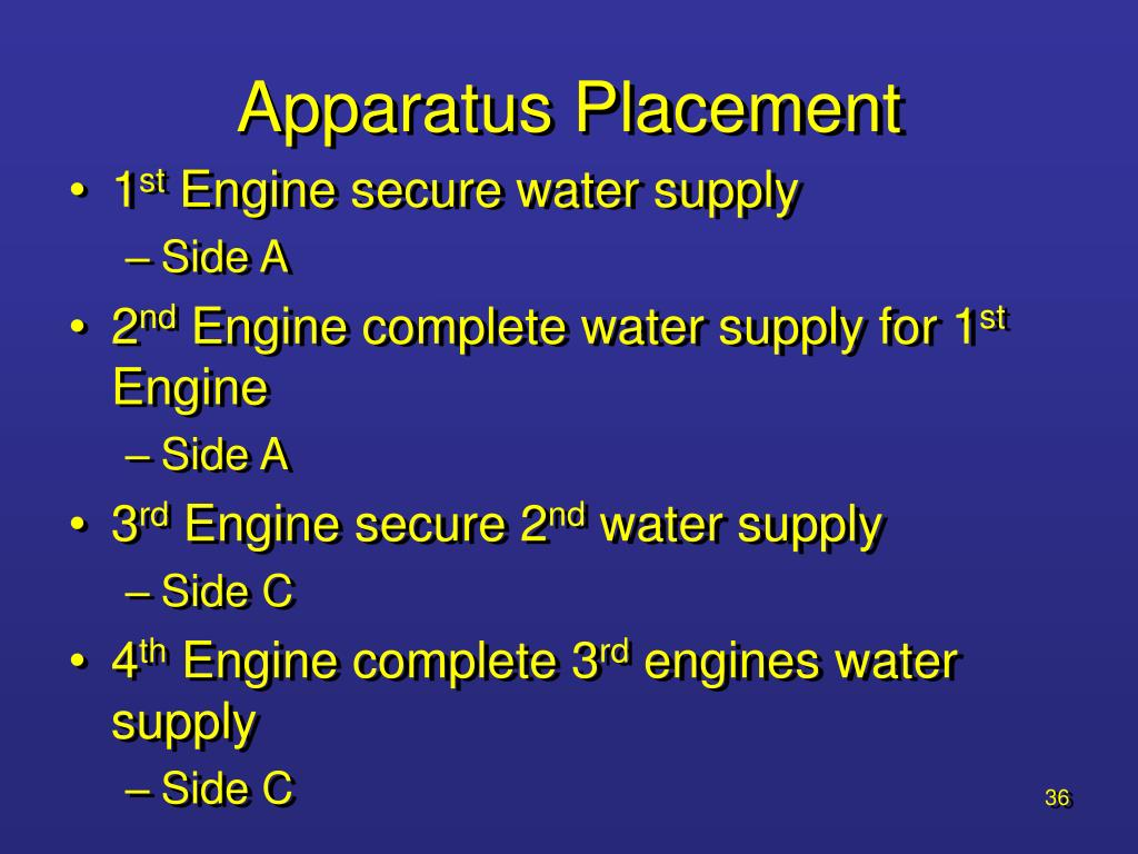 Apparatus Placement