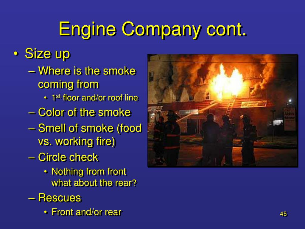 Engine Company cont.