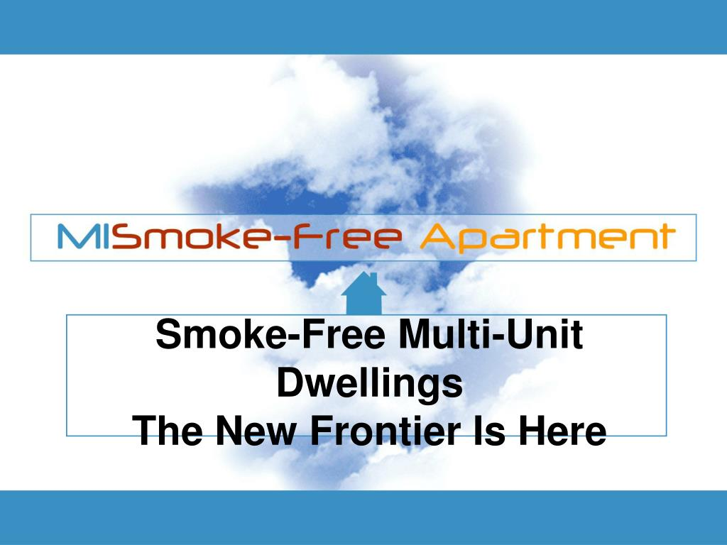 Smoke-Free Multi-Unit Dwellings