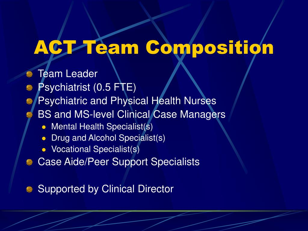 ACT Team Composition