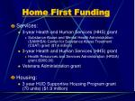home first funding