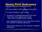 home first outcomes25