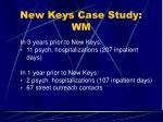 new keys case study wm27