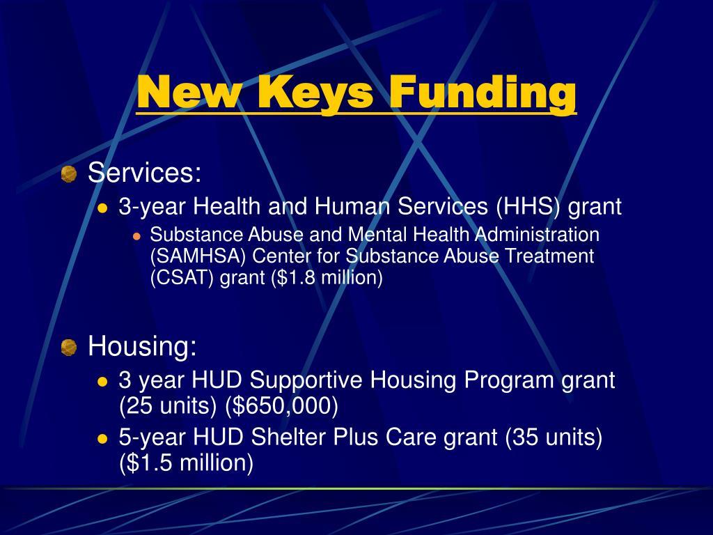 New Keys Funding
