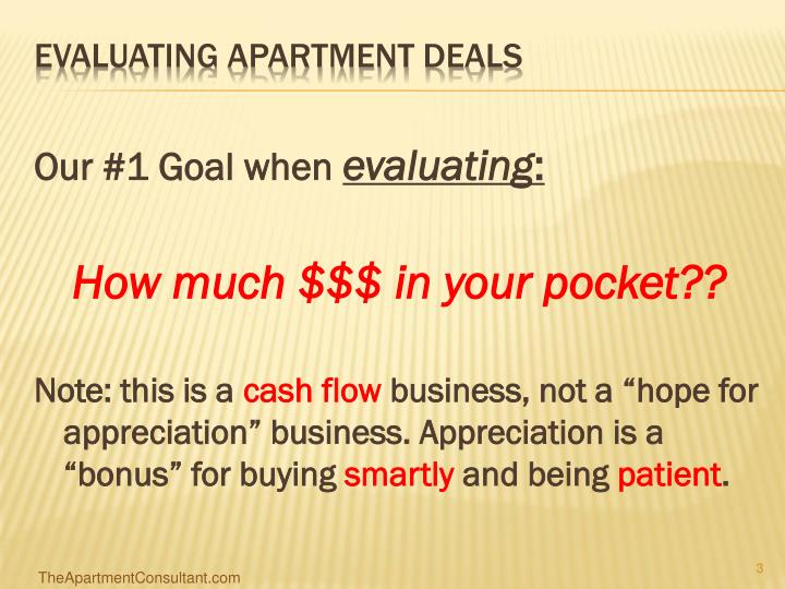 Evaluating apartment deals3