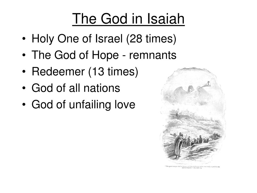 The God in Isaiah