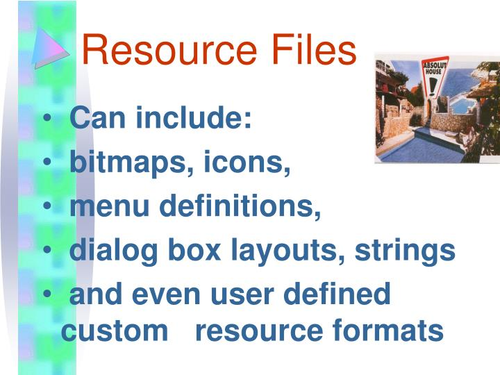 Resource Files