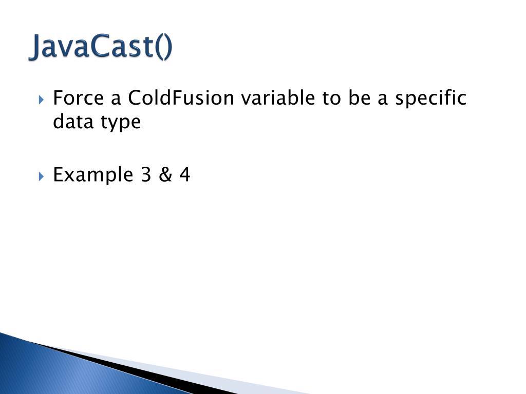 JavaCast()