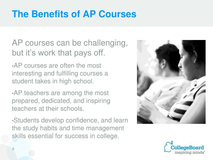 The benefits of ap courses