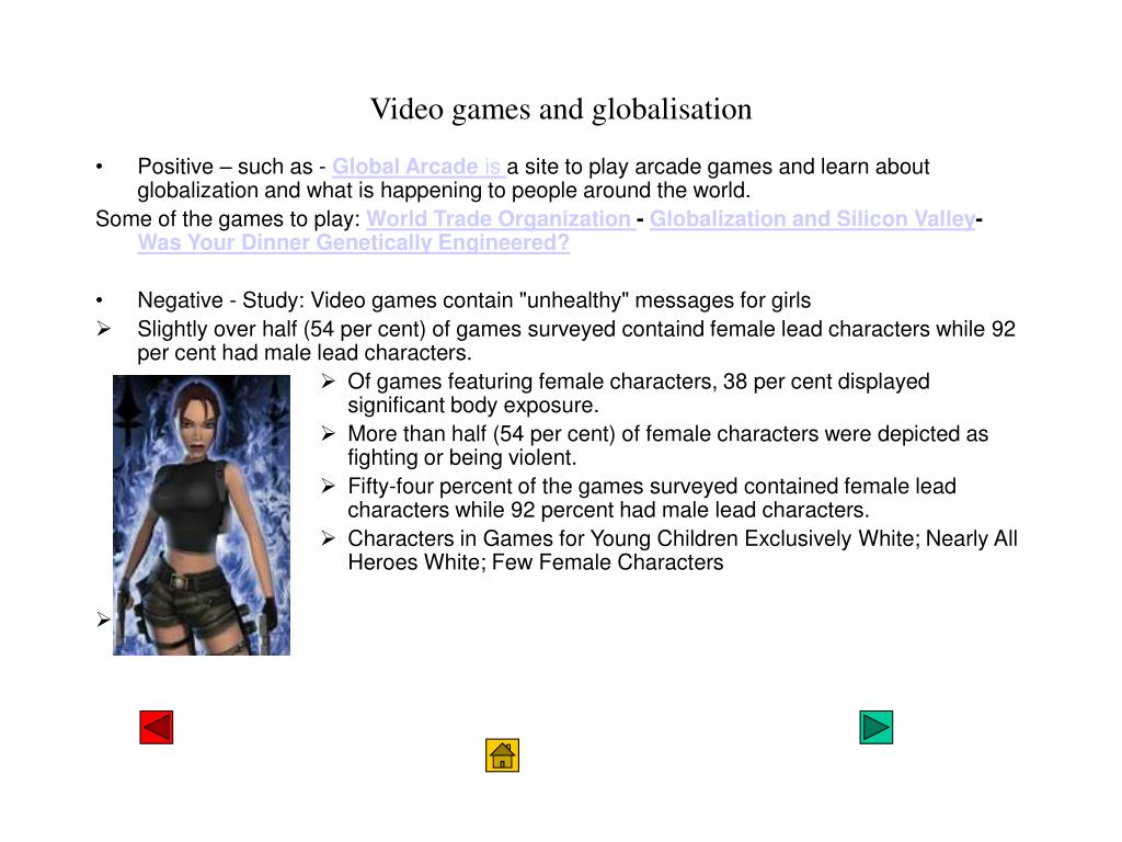 Video games and globalisation