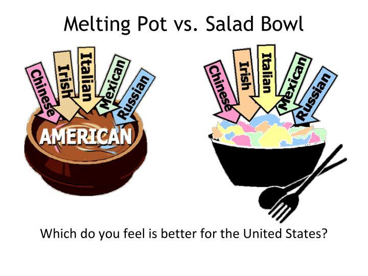 Melting Pot vs. Salad Bowl
