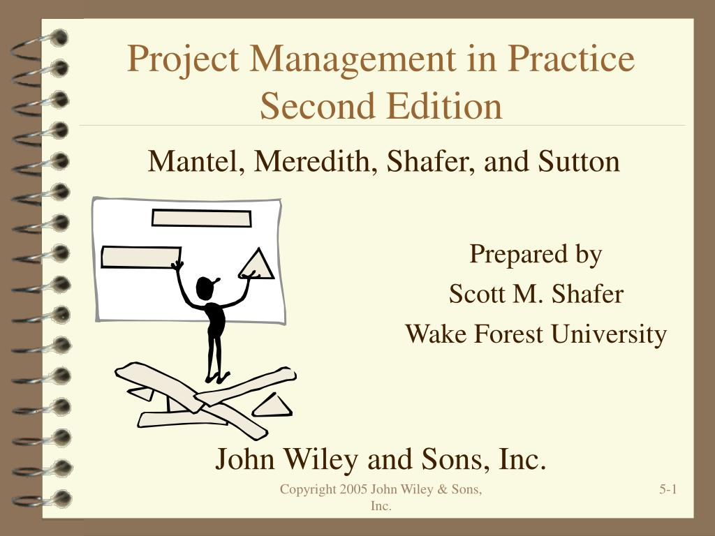 project management in practice second edition