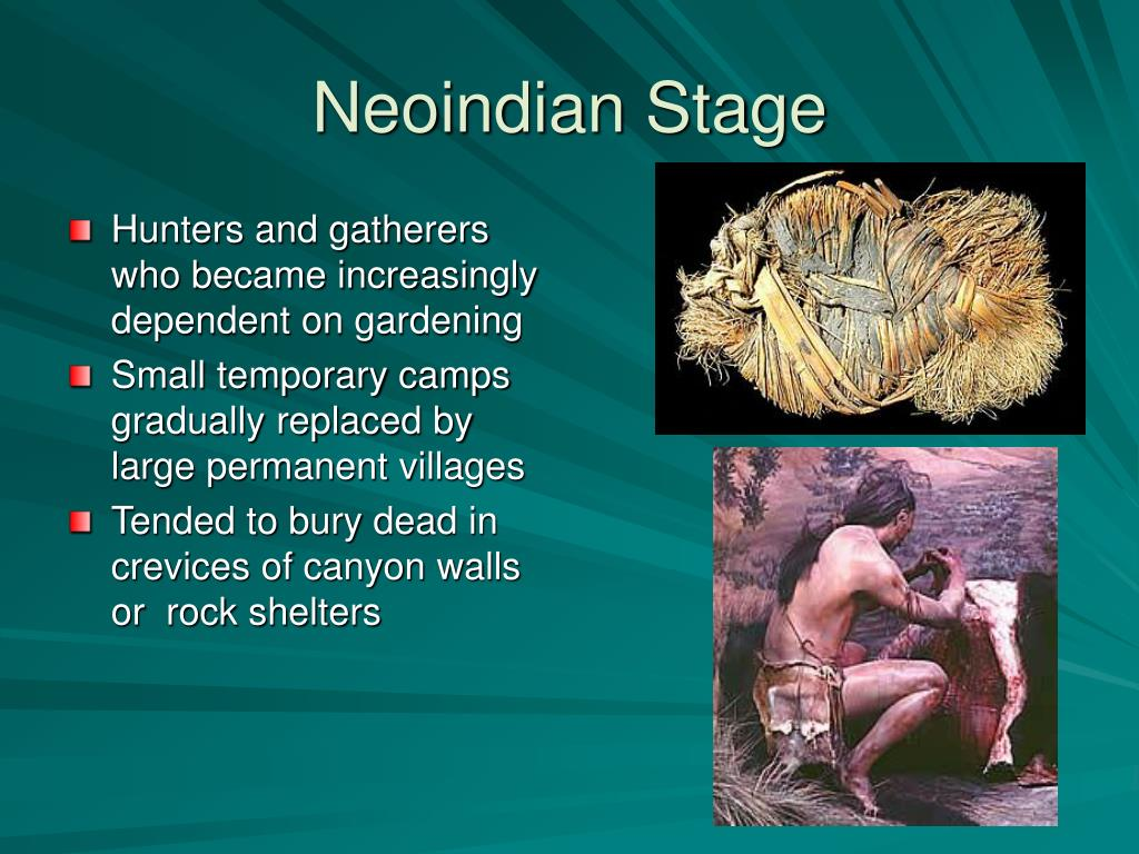 Neoindian Stage
