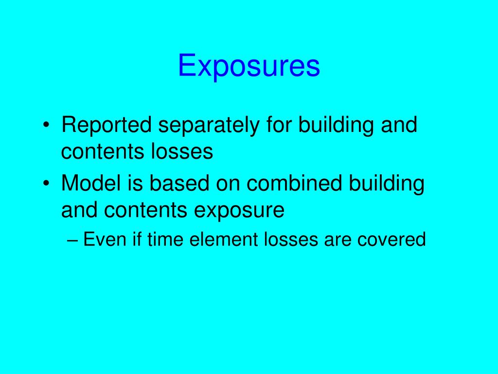Exposures