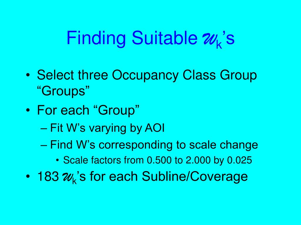 Finding Suitable