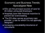 economic and business trends apocalypse now63