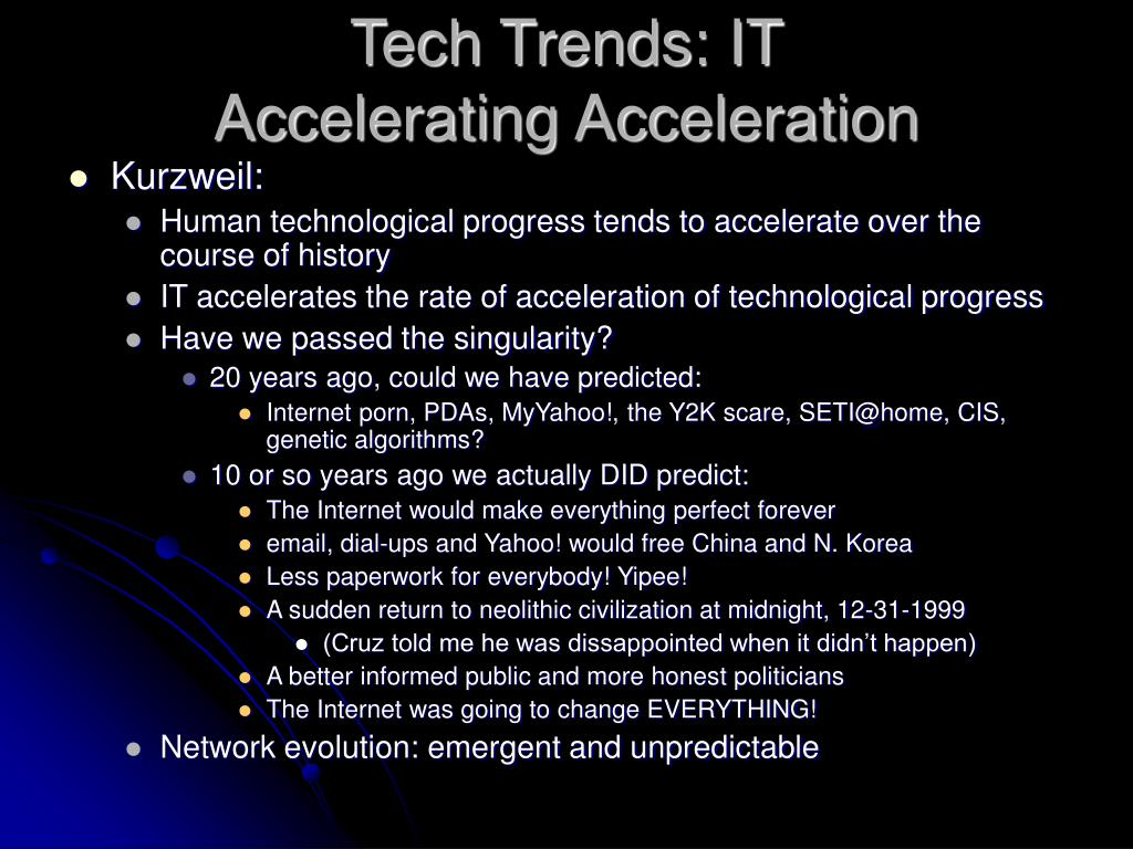 Tech Trends: IT