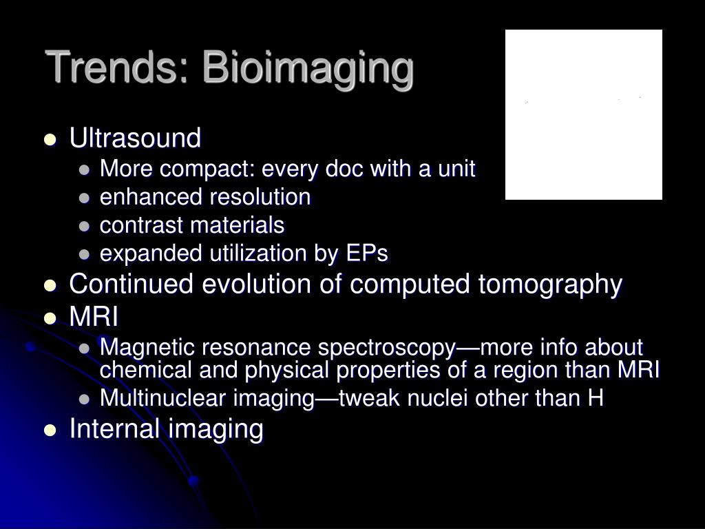 Trends: Bioimaging