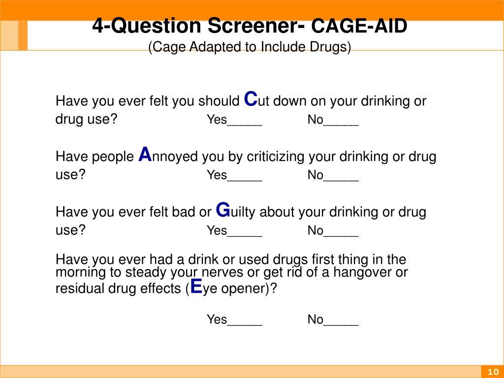 4-Question Screener