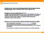 substance abuse resources14