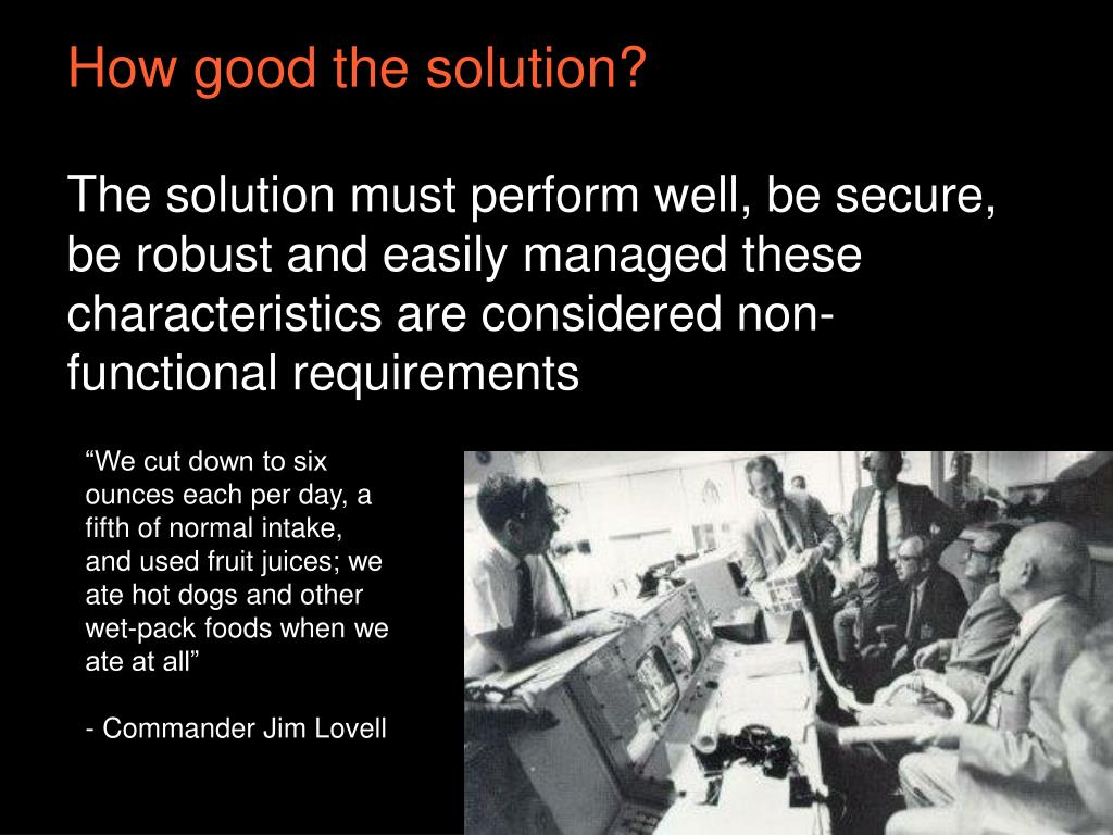 How good the solution?