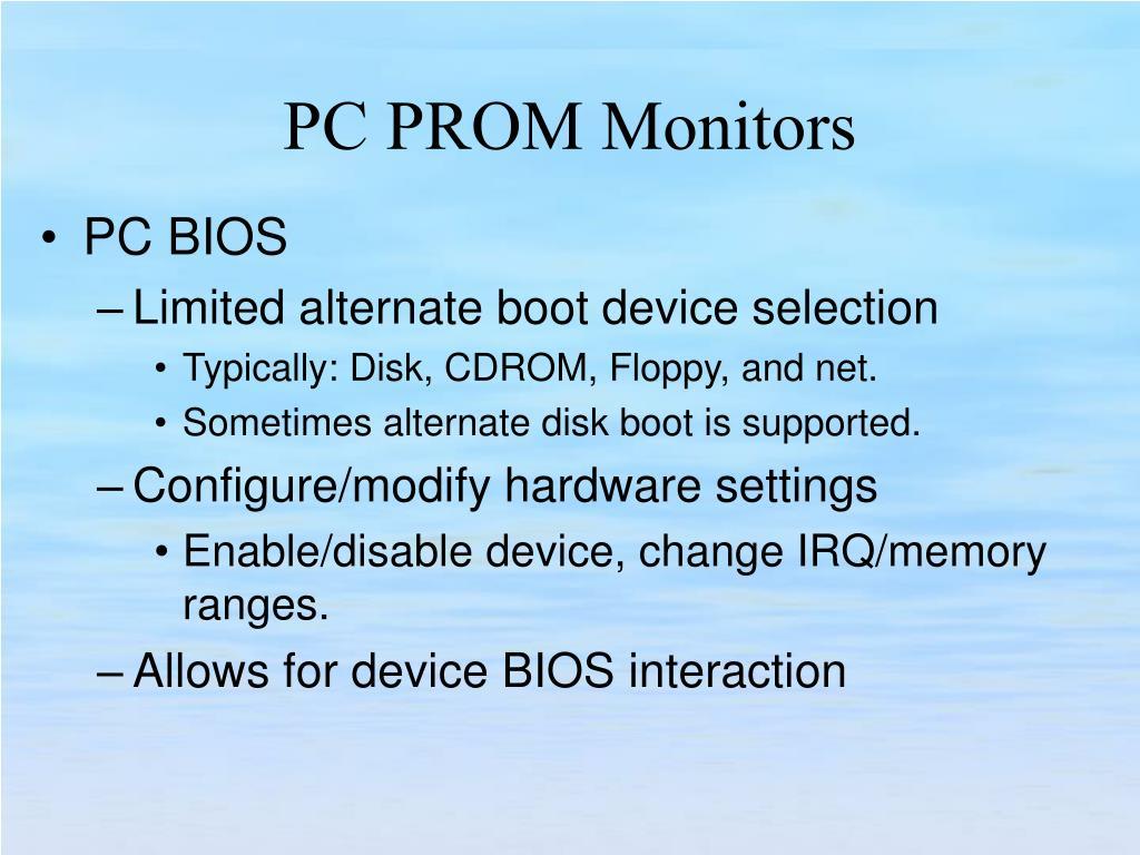 PC BIOS