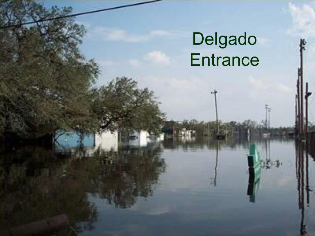 Delgado Entrance