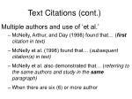text citations cont5