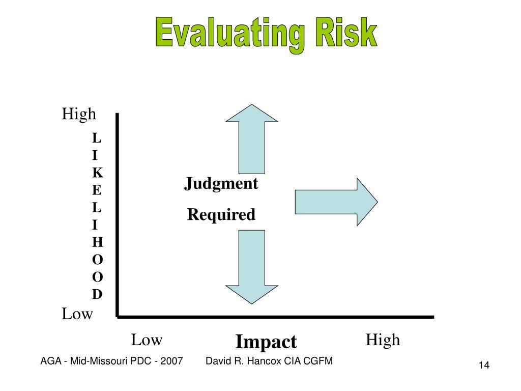 Evaluating Risk