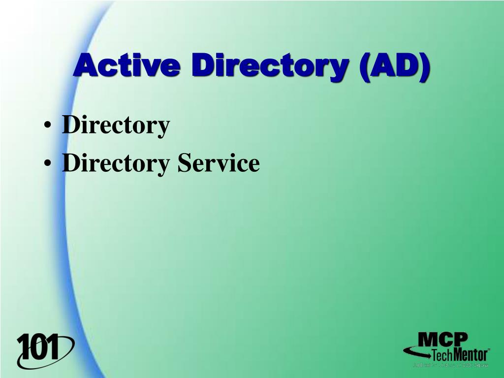 Active Directory (AD)