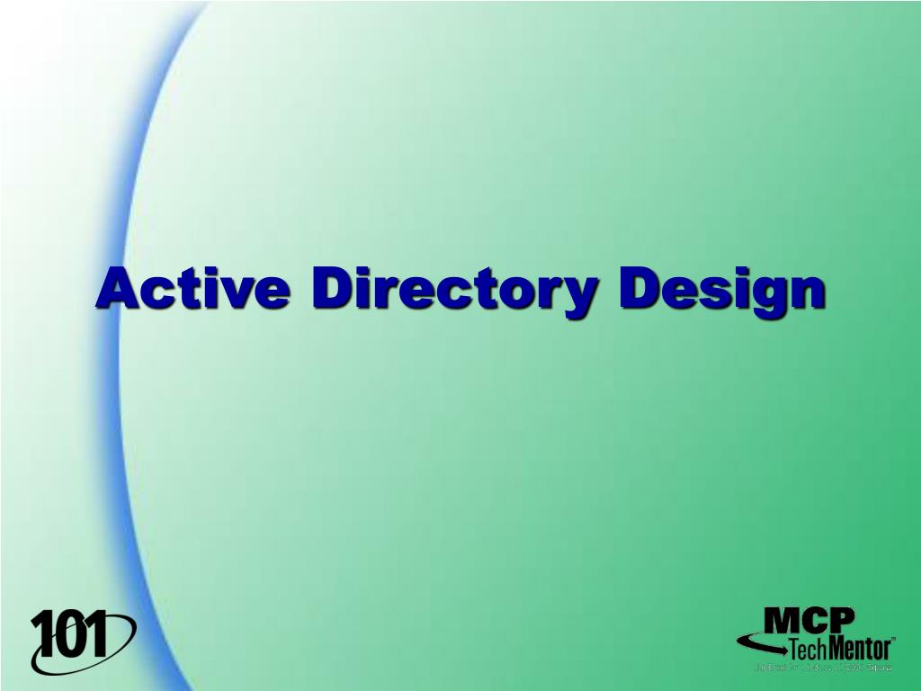 Active Directory Design