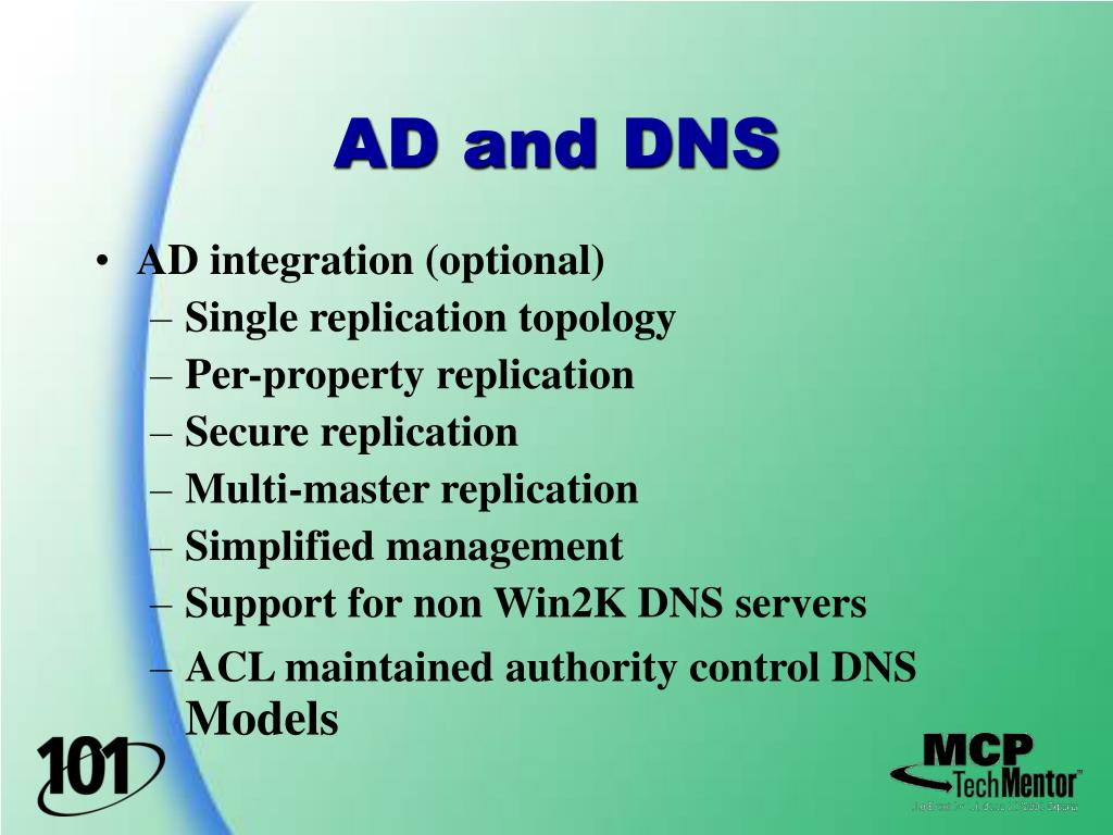 AD and DNS