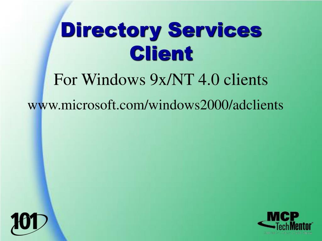 Directory Services Client