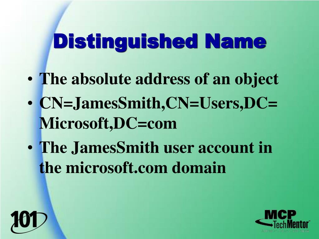 Distinguished Name