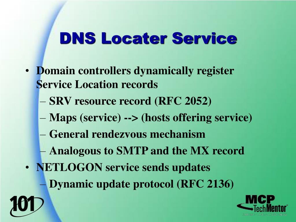 DNS Locater Service