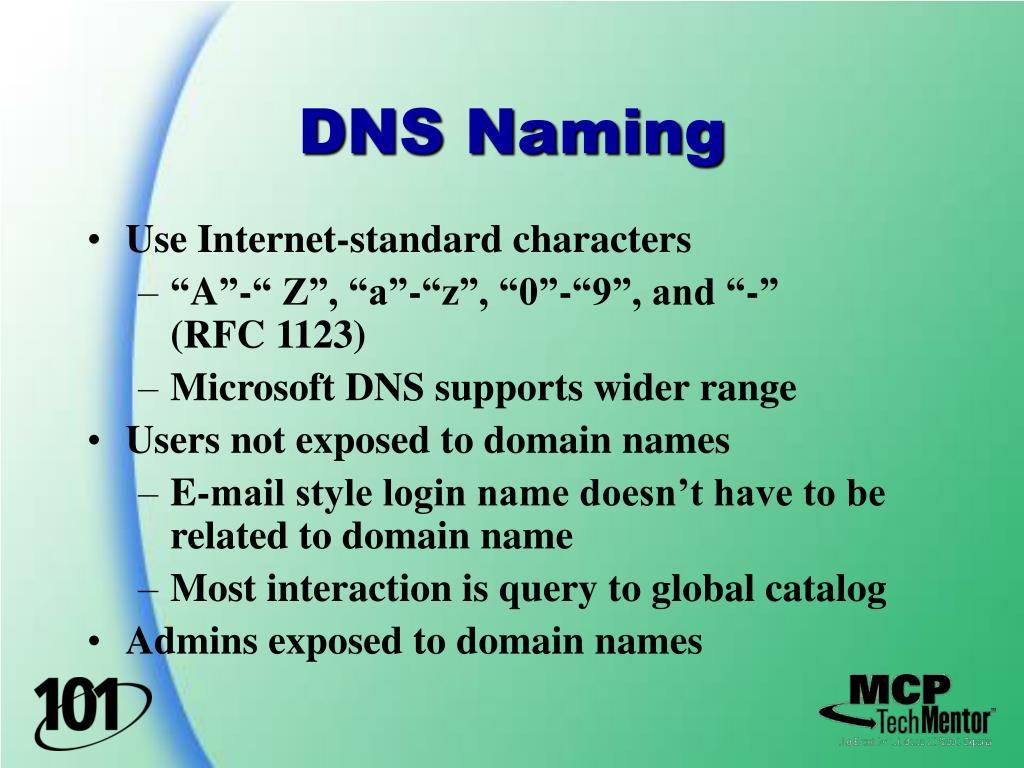 DNS Naming