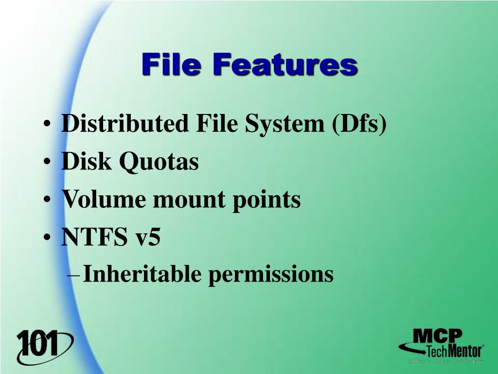 File Features