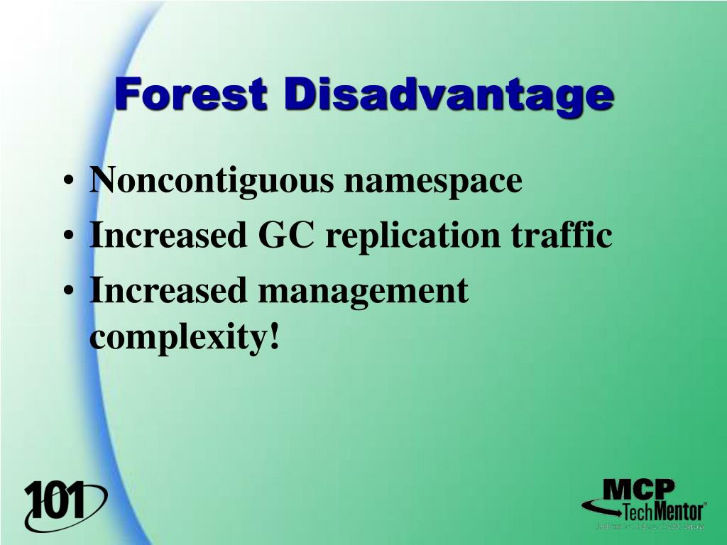 Forest Disadvantage