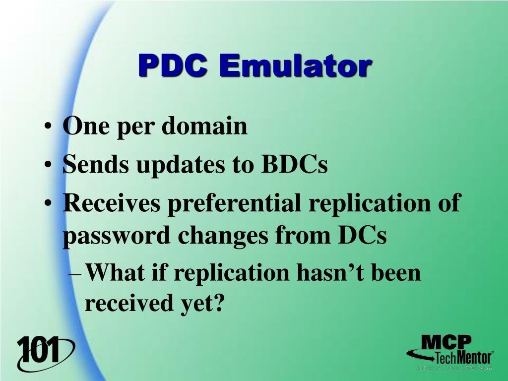 PDC Emulator