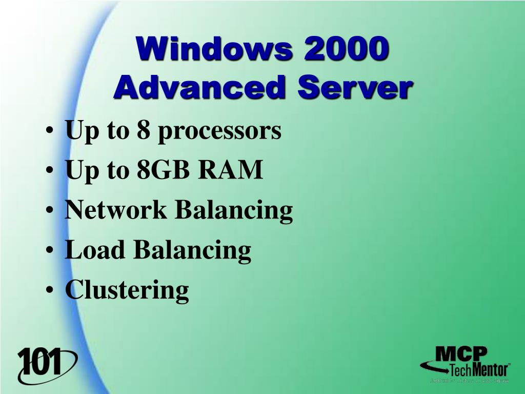 Windows 2000 Advanced Server